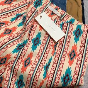 Lush Shorts - NWT Lush Bohemian/Aztec Mid Rise Shorts